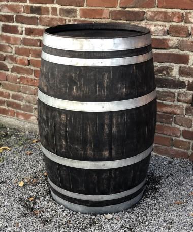 Gebrauchtes Weinfass 225l, shabby black