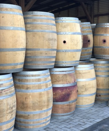 Gebrauchtes Weinfass 300l, unbehandelt, naturbelassen