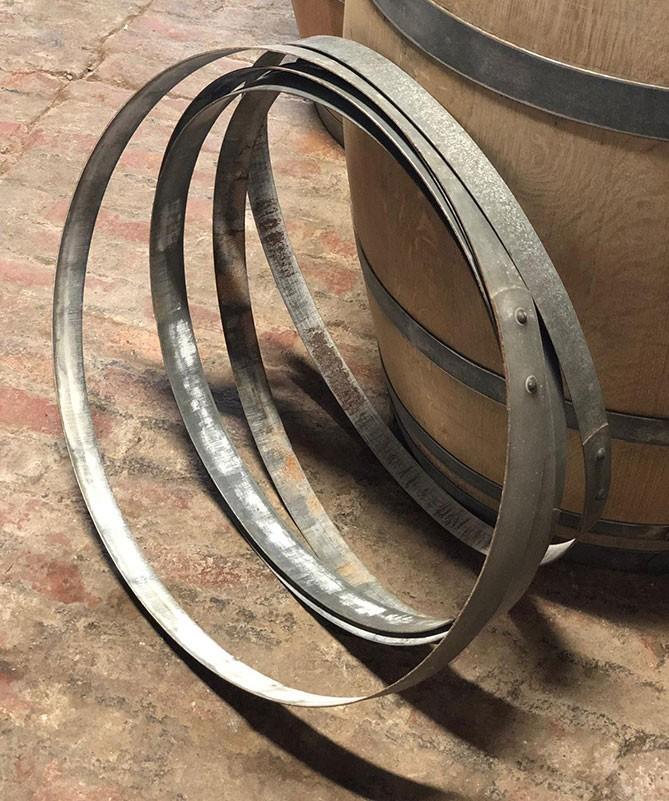 Fassringe aus gebrauchtem Weinfass