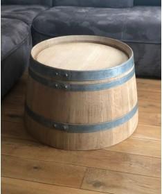 Weinfass Couchtisch natur ohne Logo